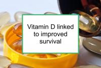 Vitamin D linked to improved survival