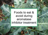 Foods to eat & avoid during aromatase inhibitor treatment