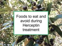 Foods to eat & avoid during Herceptin treatment