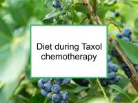 Blueberry and ginger increase Taxol effects
