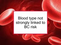 Blood type not strongly linked to BC risk