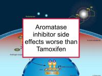 Aromatase inhibitor side effects may be worse