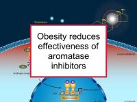 Obesity reduces aromatase inhibitor effectiveness