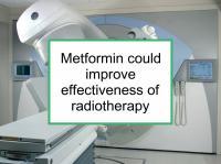 Metformin could enhance radiotherapy