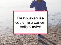 Heavy exercise could help cancer cells