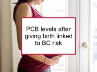 PCB levels after giving birth linked to BC risk