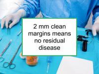 2 mm clean margins means no residual BC