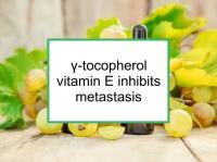 γ-tocopherol vitamin E inhibits metastasis