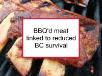 BBQ'd meat linked to reduced BC survival