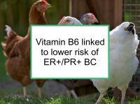 Vitamin B6 linked to reduced BC risk