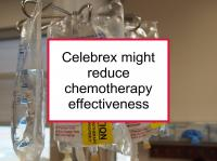 Celebrex might reduce chemotherapy effectiveness