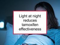 Light at night reduces tamoxifen effectiveness
