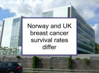 Norway & UK breast cancer survival differs