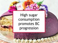 High sugar consumption promotes BC progression