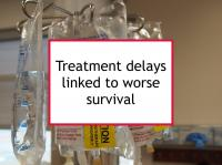 Treatment delays linked to worse survival