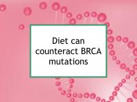 Diet can counteract BRCA mutations